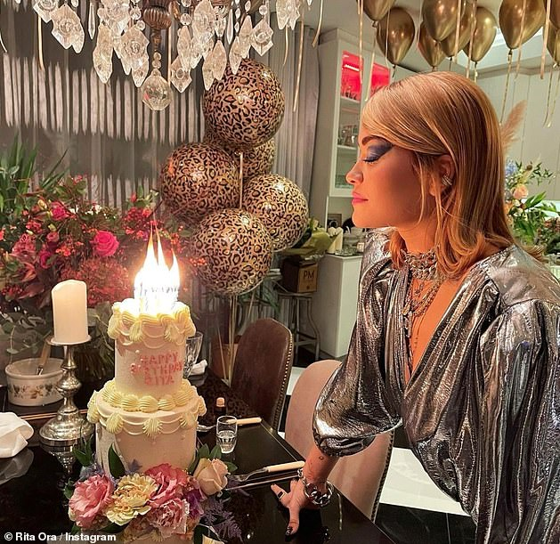 Shocking: Diddy will avoid criticism many celebrities have had over their decisions to continue to have gatherings as Rita Ora was forced to publicly apologize after it emerged she'd hosted a 30th birthday party at a London restaurant while the country was in lockdown