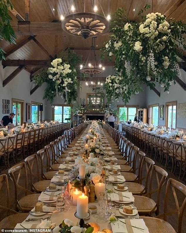 Stunning:According to a local wedding photographer, Jack Chauvel Photography, 'most premium wedding venues in the Southern Highlands region charge $160 per pax