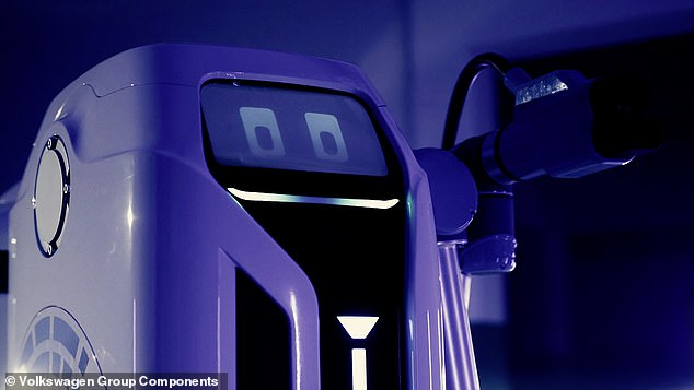 The entire charging process takes place without any human involvement and it can be completed for multiple vehicles at once