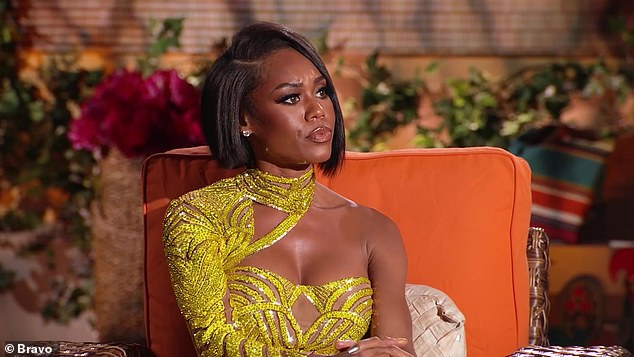 Got receipts:The explosive reunion saw Monique coming to set with a burn-book style collection of receipts from her fellow castmates and she got into detail of her decision to leave on an Instagram live following the reunion