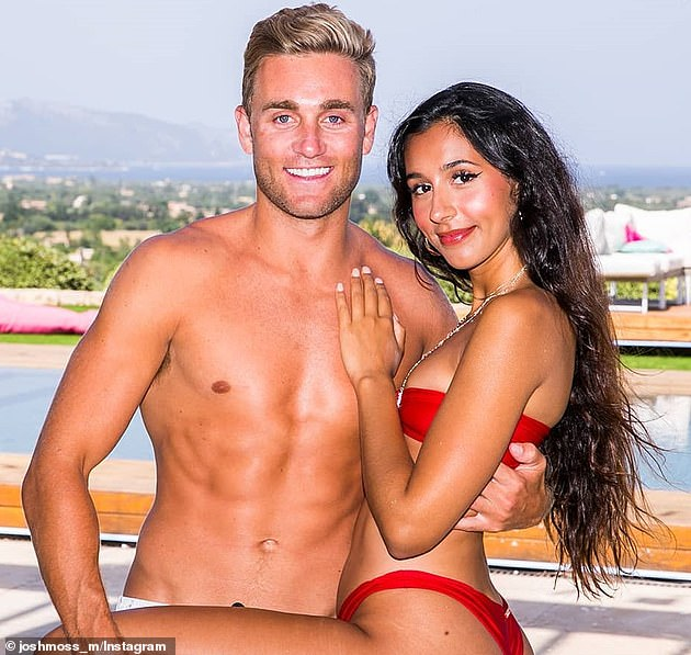 Remember them? Josh rose to fame on Love Island Australia in 2018, where he fell in love with Amelia Marni