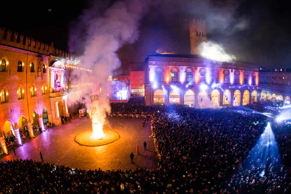 New Year's Eve in Bologna.