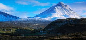 Mount Errigal And Muckish Mountain, County Donegal, Ireland