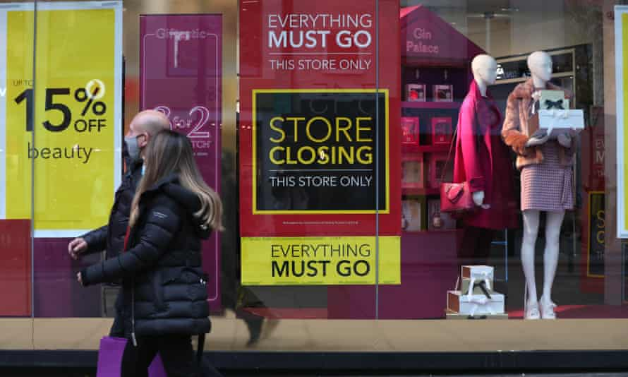Debenhams collapsed into administration as the growth of online shopping quickens the decline of bricks and mortar retail.