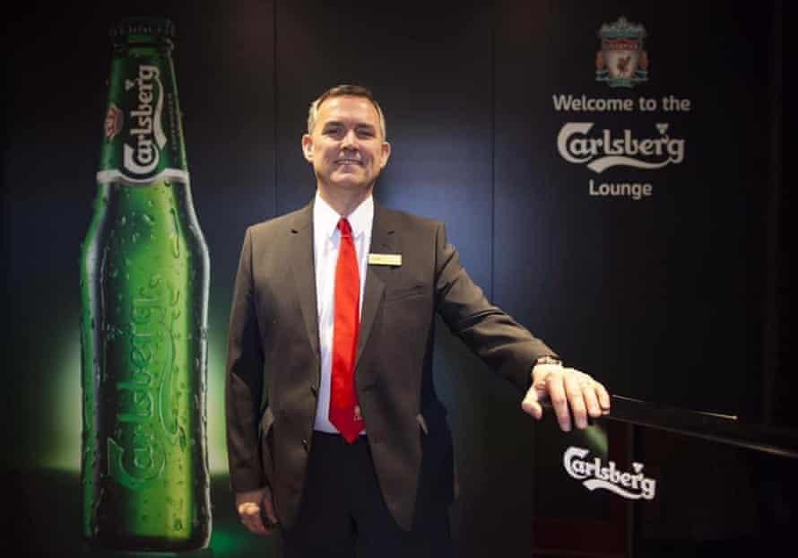 Paul at Liverpool FC