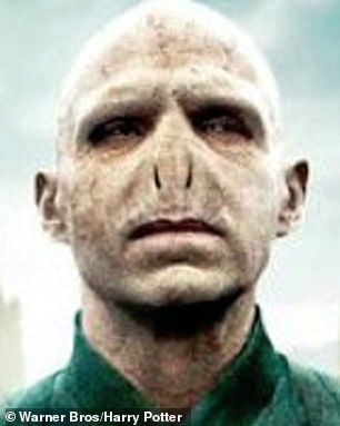 What a character: Some followers compared him to Harry Potter's Voldemort