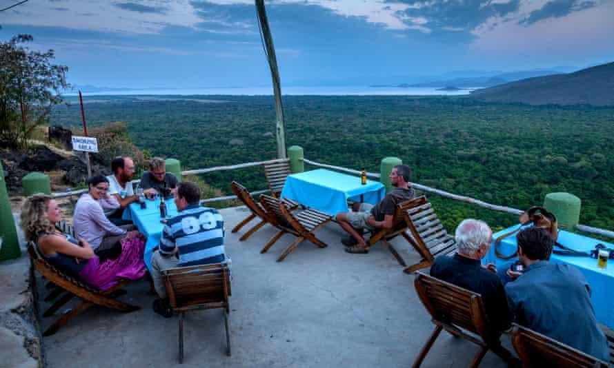 The View Of Lake Abaya from Paradise Lodge