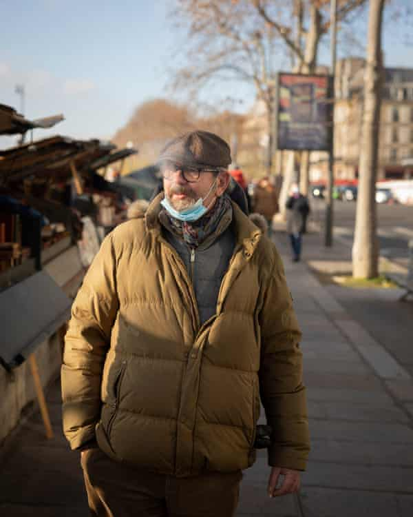 Gilles Morineaux has run a book stall on the right bank of the Seine for 20 years: 'This job has allowed me to chat to Emmanuel Macron, Joseph Stiglitz, and a contract killer whose name I'd better not reveal.'