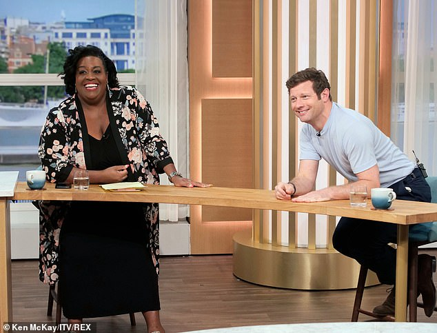 In with the new: It was revealed on 30 November the presenters had been axed from their weekly slot to be replaced with Alison and Dermot (pictured in August)