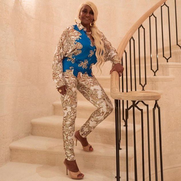 Wow! In a sweet tribute Diddy shared a picture of his mom wearing a Versace ensemble