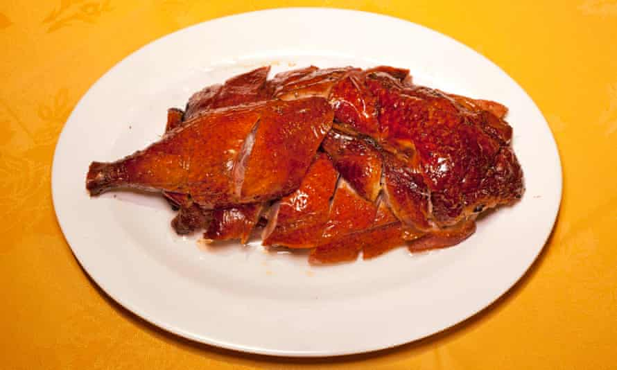 'Addictively burnished: Cantonese roast duck at Four Seasons.