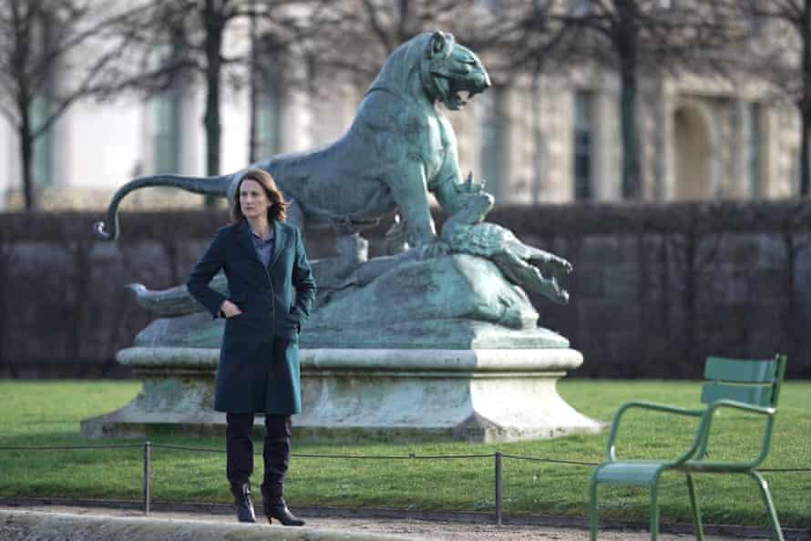 Andrea (Camille Cottin) in season four.
