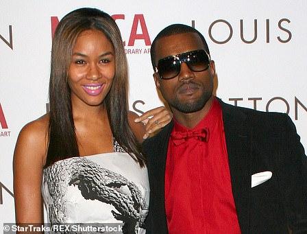 Kanye was dating model Alexis Phifer
