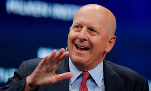 Goldman chief executive David Solomon