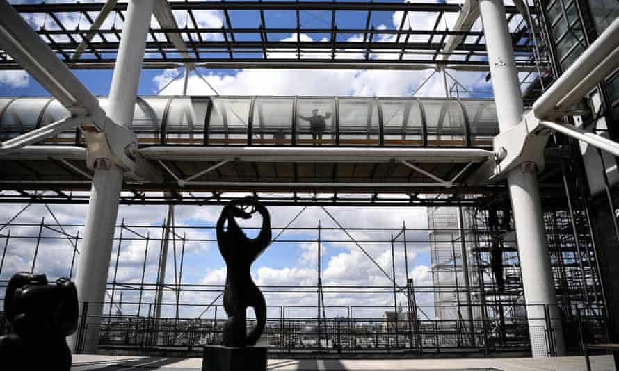 The Pompidou Centre will be closed for renovation from 2023 to 2027.