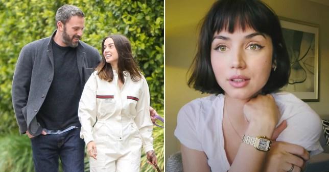 Ana de Armas reveals her new haircut after Ben Affleck split