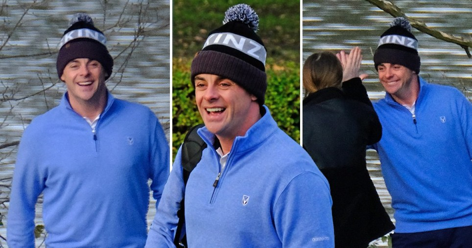 Ant McPartlin golf