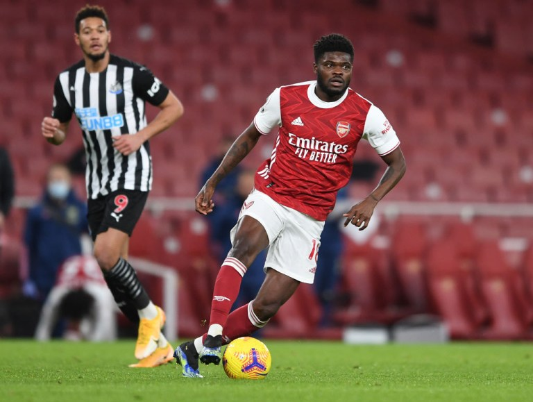 Thomas Partey has returned to full fitness after a frustrating start to his Arsenal career