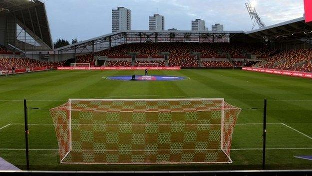 The loss of the game at the Brentford Community Stadium is a first postponement for both sides this season
