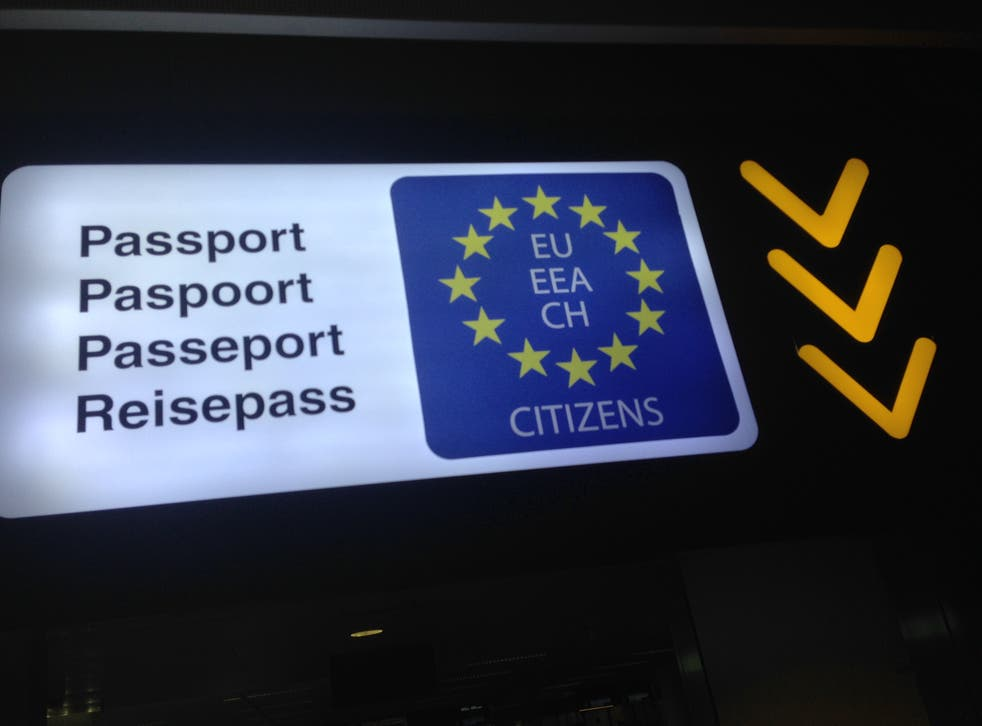 EU citizens questioned upon return
