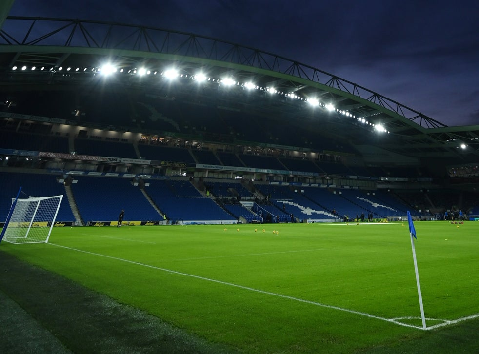 The Amex Stadium awaits the visit of Wolves