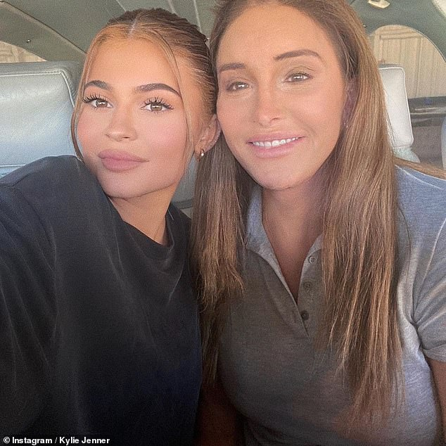 'She's an open book': Caitlyn Jenner has revealed she's closer to his youngest child Kylie than her other nine children