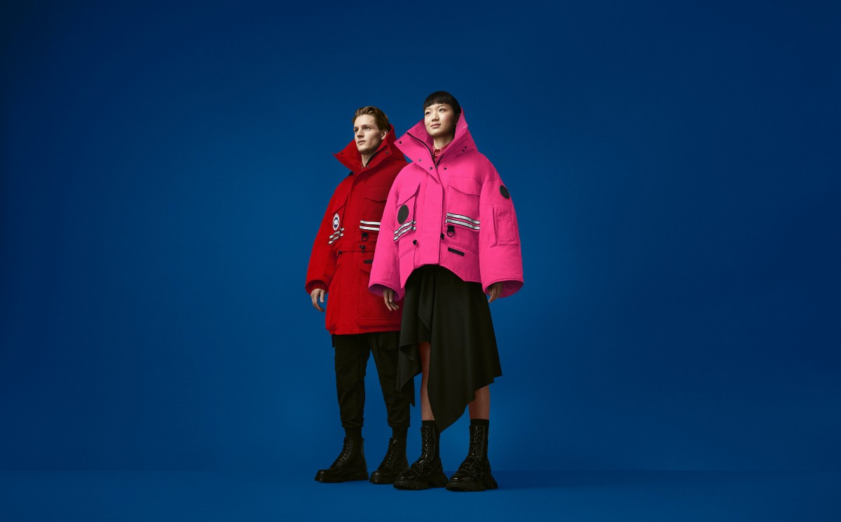 Canada Goose launches first-ever spring capsule collection