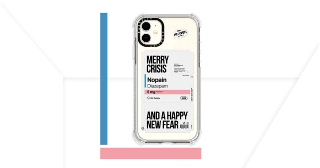The Merry Crisis phone case