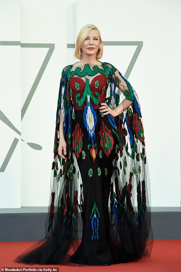 Update: Cate Blanchett (pictured) is creating an art gallery at her 'haunted' $AU8.6 million mansion in the English countryside, according to a new report