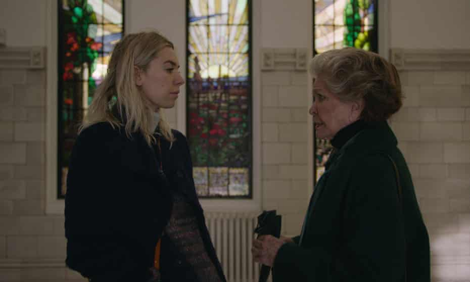 Steely matriarch… with Vanessa Kirby in Pieces of a Woman.