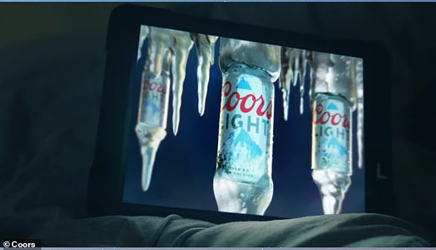 The researchers concerns are mainly regarding Coors Light's experiment in January that aimed to show sports fans commercials while they slept after the big game