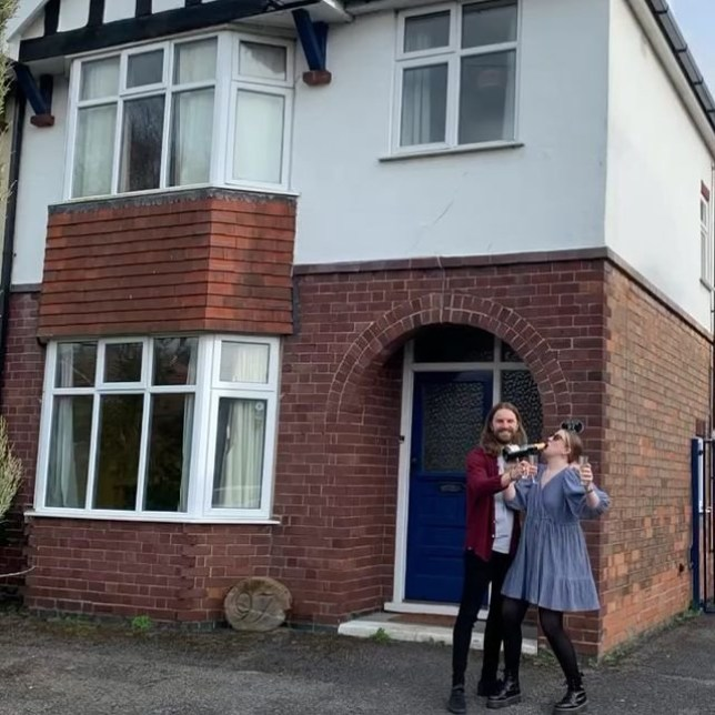 Couple buy run down 1930s house and renovate it on a budget with eBay bargains
