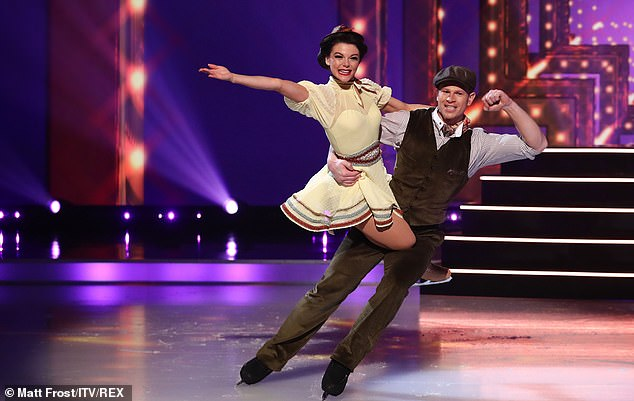 What a start! Faye Brookesopened musicals week with a bang as she won a respectable 29 pointsafter Mary Poppins inspired skate