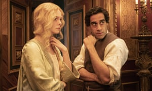 A riotous and visceral drama … Dhawan with Elle Fanning in The Great.