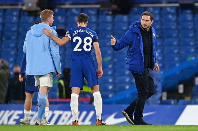 Frank Lampard reveals what he told Chelsea players at half-time during Manchester City drubbing