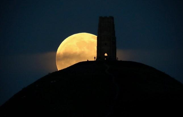Last year's Full Wolf Moon