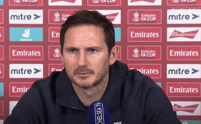 Frank Lampard is battling to save his job at Chelsea after a string of poor results