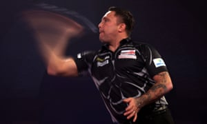 Gerwyn Price's stunning start gave him plenty of wiggle room in some nervy late exchanges.