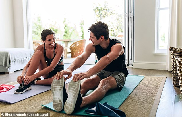 People with high blood pressure are better off having a stretch at home rather than going out for a walk if they want to lower their blood pressure, study finds. Stock image