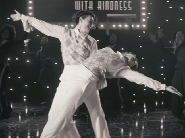 Phoebe Waller Bridge in Harry Styles's Treat People With Kindness video