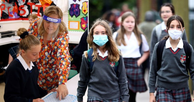 Head teachers from Britain?s top schools reveal plan to vaccinate one million staff in a single week over half term