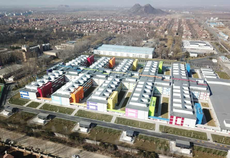 Xiaotangshan hospital in Beijing, which was built in just 10 days.