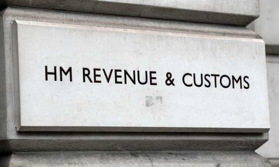 HM Revenue & Customs sign