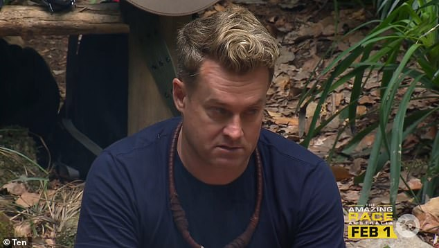 Battle:Grant Denyer addressed his problematic relationship with alcohol on Tuesday's episode of I'm a Celebrity, even admitting he was drunk on TV while working at Channel Seven's Sunrise