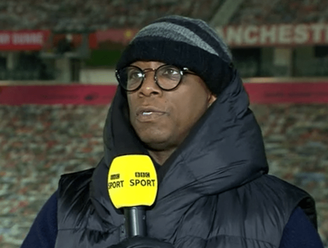 Ian Wright sent some words of advice to struggling Chelsea star Timo Werner after his penalty miss against Luton