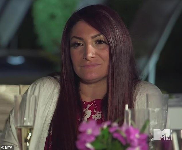 Lengthy feud:Deena Cortese finally agreed to meet with Angelina Pivarnick after a feud that kept them apart for 10 months on Thursday's episode of Jersey Shore: Family Vacation