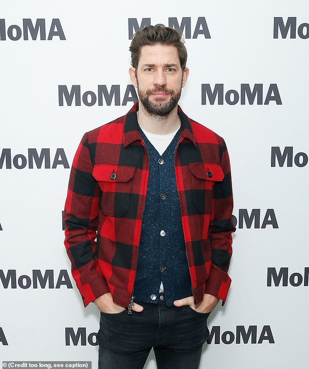 Live from New York:John Krasinski (pictured), Dan Levy and Regina King will serve as the first three SNL hosts of 2021, beginning the last Sunday in January, the show announced on Friday