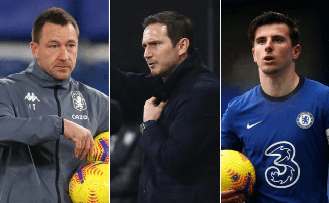 John Terry and Mason Mount both sent messages to sacked Chelsea manager Frank Lampard