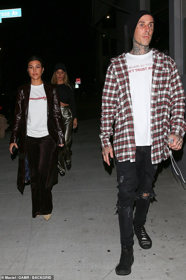 Feeling This: Kourtney Kardashian's longtime friendship with Travis Barker has turned romantic according to a People report on Monday, as the two are seen together in West Hollywood back in November 2018