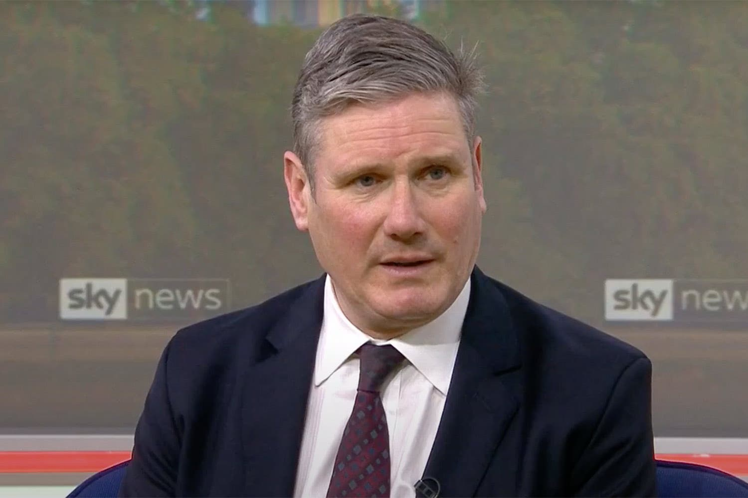 <p>Sir Keir Starmer was appearing on lots of Breakfast TV this morning</p>